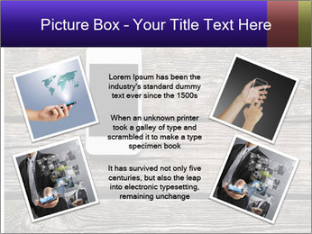 Smartphone On Wooden Table PowerPoint Template - Slide 24
