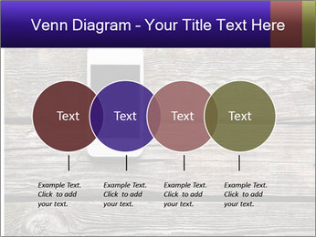 Smartphone On Wooden Table PowerPoint Template - Slide 32