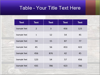 Smartphone On Wooden Table PowerPoint Template - Slide 55