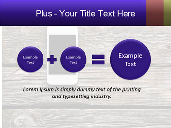 Smartphone On Wooden Table PowerPoint Template - Slide 75