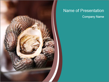 Open Oysters PowerPoint Templates