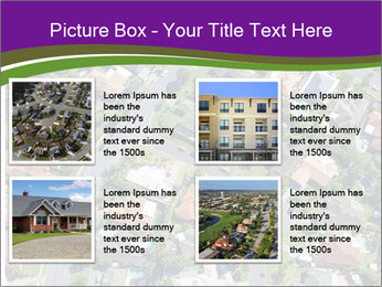 Picture country houses. PowerPoint Templates - Slide 14