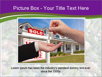 Picture country houses. PowerPoint Template - Slide 15