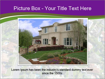 Picture country houses. PowerPoint Template - Slide 16