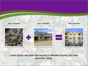 Picture country houses. PowerPoint Template - Slide 22