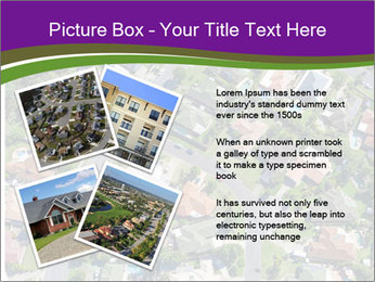 Picture country houses. PowerPoint Template - Slide 23