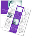 Glass office buildings. Newsletter Templates