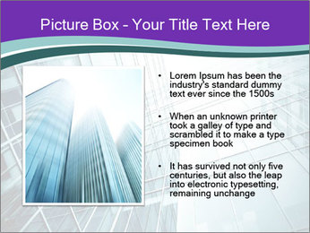 Glass office buildings. PowerPoint Template - Slide 13