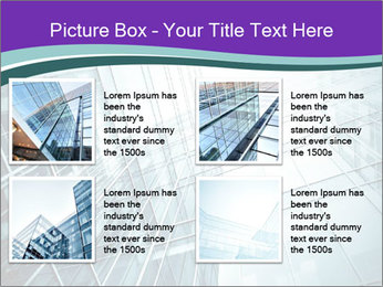 Glass office buildings. PowerPoint Template - Slide 14
