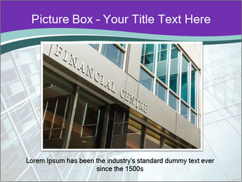 Glass office buildings. PowerPoint Template - Slide 15