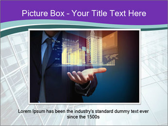 Glass office buildings. PowerPoint Template - Slide 16