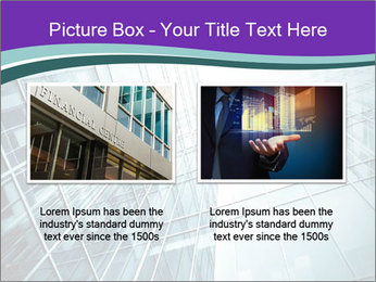Glass office buildings. PowerPoint Template - Slide 18