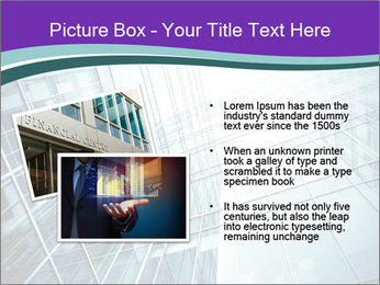 Glass office buildings. PowerPoint Template - Slide 20
