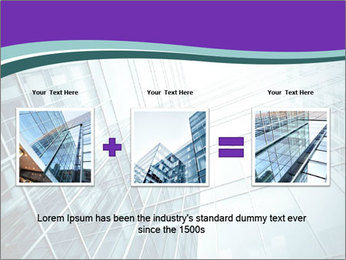 Glass office buildings. PowerPoint Template - Slide 22