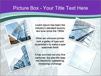 Glass office buildings. PowerPoint Template - Slide 24
