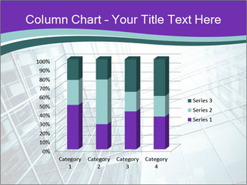 Glass office buildings. PowerPoint Template - Slide 50