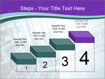 Glass office buildings. PowerPoint Template - Slide 64