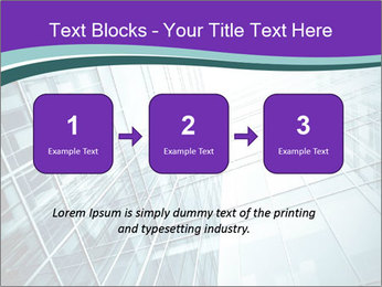 Glass office buildings. PowerPoint Template - Slide 71