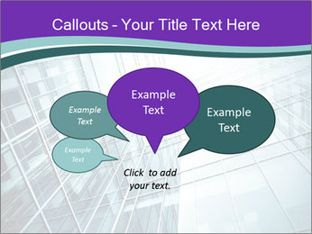 Glass office buildings. PowerPoint Template - Slide 73