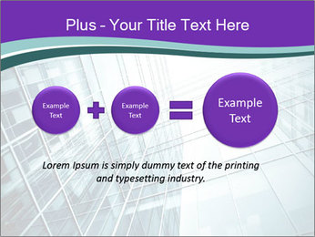 Glass office buildings. PowerPoint Template - Slide 75