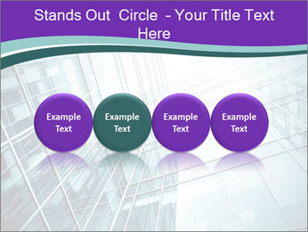 Glass office buildings. PowerPoint Template - Slide 76