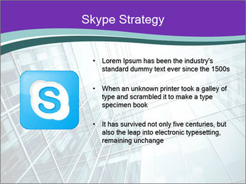 Glass office buildings. PowerPoint Template - Slide 8