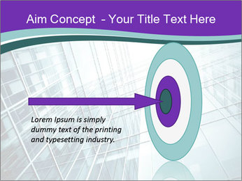 Glass office buildings. PowerPoint Template - Slide 83