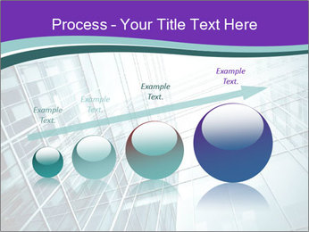 Glass office buildings. PowerPoint Template - Slide 87