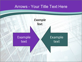 Glass office buildings. PowerPoint Template - Slide 90