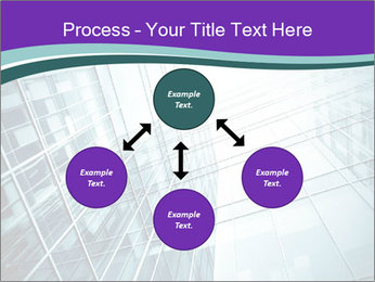 Glass office buildings. PowerPoint Template - Slide 91