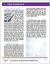 Glass office buildings. Word Template - Page 3
