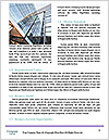 Glass office buildings. Word Template - Page 4