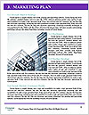 Glass office buildings. Word Template - Page 8