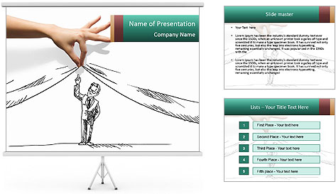 Fresh solutions for any question. PowerPoint Template
