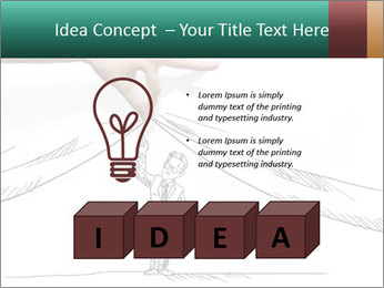 Fresh solutions for any question. PowerPoint Template - Slide 80