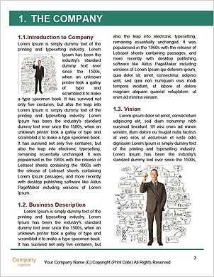 Fresh solutions for any question. Word Template - Page 3