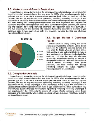 Fresh solutions for any question. Word Template - Page 7