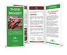 Delicious sausage. Brochure Template