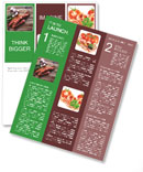 Delicious sausage. Newsletter Templates