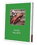 Delicious sausage. Presentation Folder