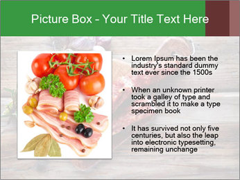 Delicious sausage. PowerPoint Template - Slide 13