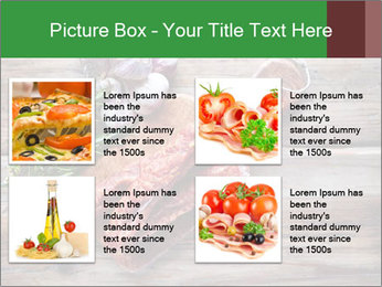 Delicious sausage. PowerPoint Template - Slide 14