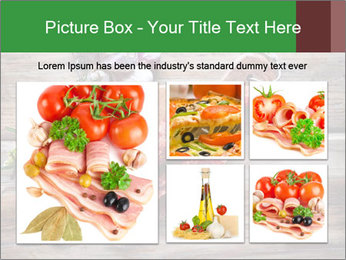 Delicious sausage. PowerPoint Template - Slide 19