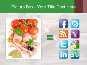 Delicious sausage. PowerPoint Template - Slide 21