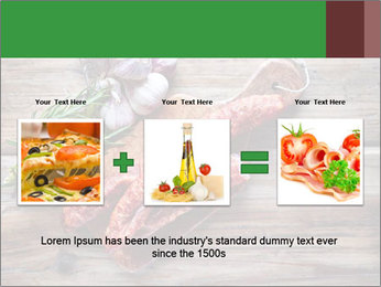 Delicious sausage. PowerPoint Template - Slide 22