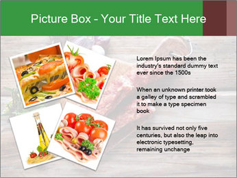 Delicious sausage. PowerPoint Template - Slide 23
