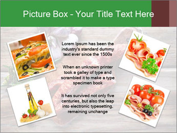 Delicious sausage. PowerPoint Template - Slide 24