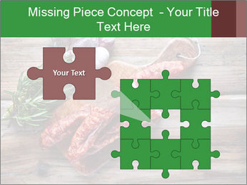 Delicious sausage. PowerPoint Template - Slide 45