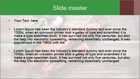 Delicious sausage. PowerPoint Template - Slide 2
