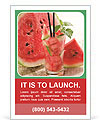 Fresh from watermelon. Ad Templates